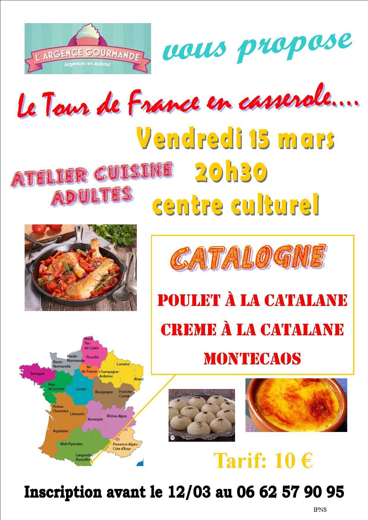 Atelier cuisine spécial Catalogne