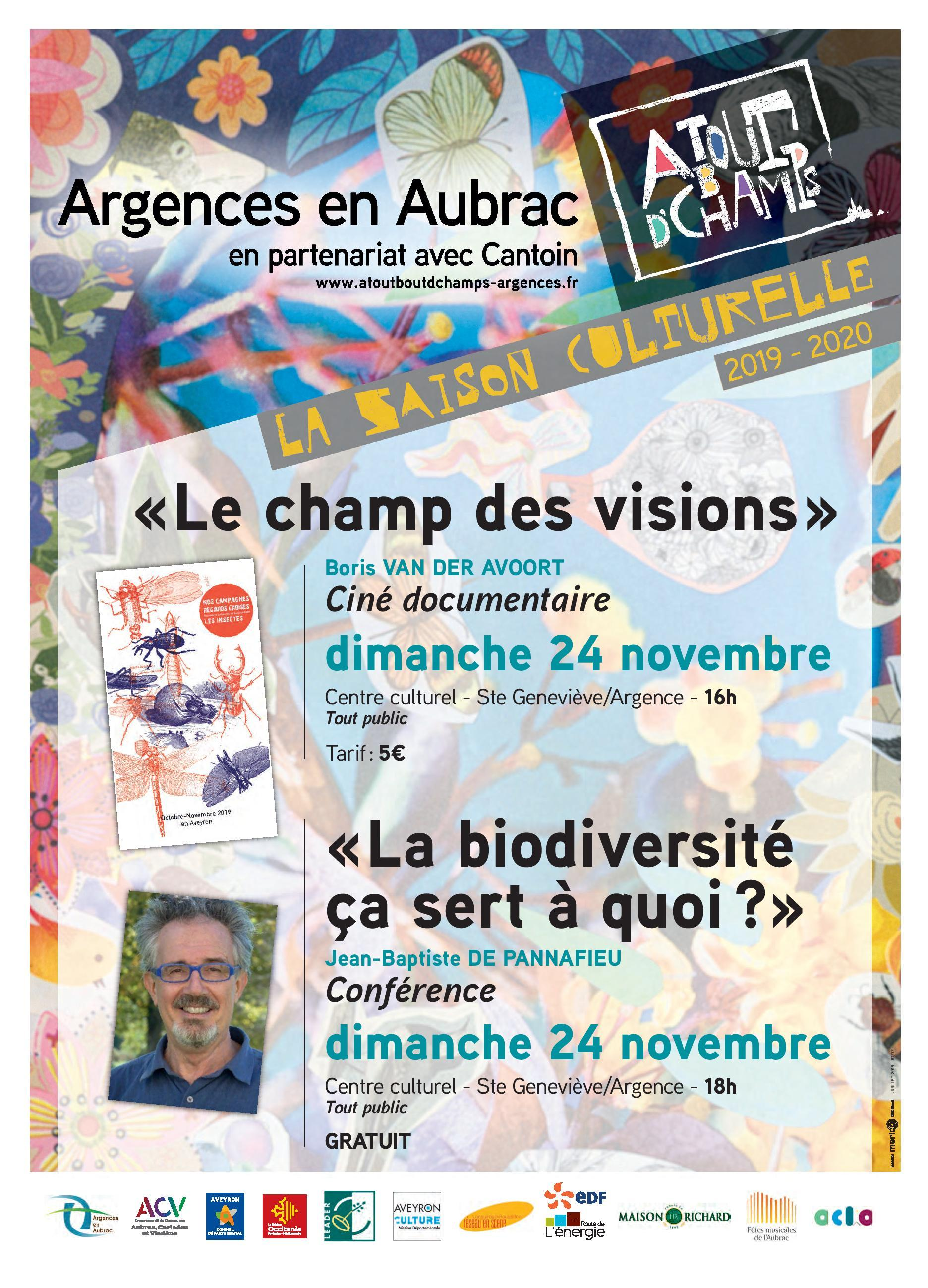 "Film documentaire ""Le champ des visions"""