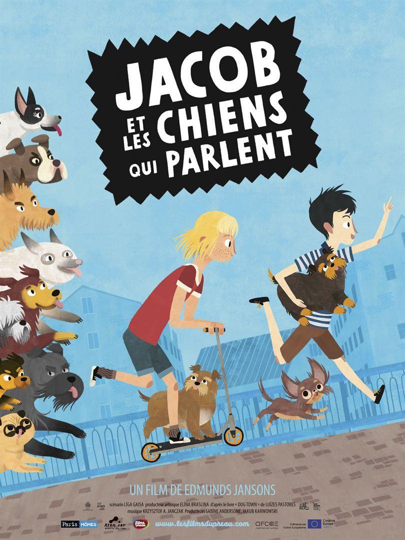 """Séance de cinéma """"Jacob et les chiens qui parlent"""""""